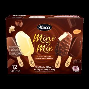 Mucci - Mini Mix 3 verschiedene Schokoladensorten